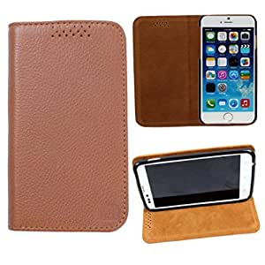 DooDa Genuine Leather Flip Case Cover For Karbonn A25 +