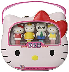 PEZ Hello Kitty 40th Anniversary Gift Tin, 1.74 ounce