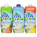 Vita Coco Coconut Water, Variety Pack, 16.9 Ounce (Pack of 12)