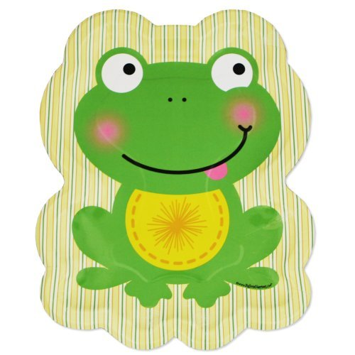 Froggy Frog Dinner Plates (8 count) - 1