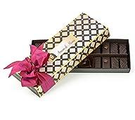 Amore di Mona Connoisseur Collection Dark Chocolate & Caramela Gift Box: 9 Oz Luxury Assortment….