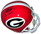 "Terrell Davis Autographed/Signed Georgia Bulldogs Full Size Helmet ""Go Dawgs"" at Amazon.com"