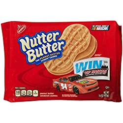 Nutter Butter Sandwich Cookie - Peanut Butter - 16.00 Ounces