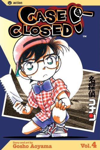 名探偵コナン コミック4巻 (英語版)