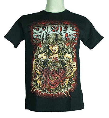 Suicide Silence (no tempo di spurgo) Extra Large Size Xl Nuovo. Maglietta 1186