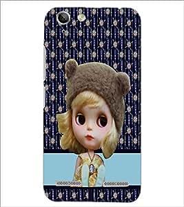 PrintDhaba Cute Doll D-3783 Back Case Cover for LENOVO VIBE K5 PLUS (Multi-Coloured)
