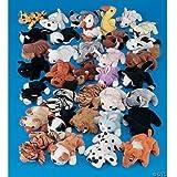 Plush Mini Bean Bag Animal Assortment(50 pcs)