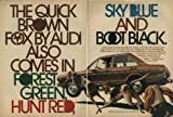 1973 AUDI FOX SEDAN COLOR AD - 2 PAGES USA - *The Quick Brown Fox by Audi also comes in Forest Green,Hunt Red...*