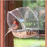Birdscapes Birdscapes Clear Window Feeder