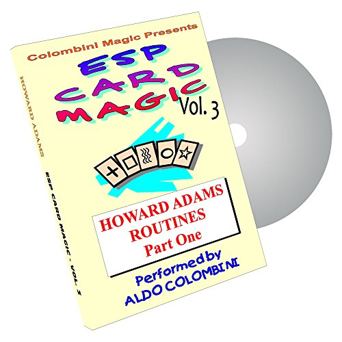 MMS ESP Card Magic (Howard Adams Routines) Vol. 3 by Aldo Colombini DVD