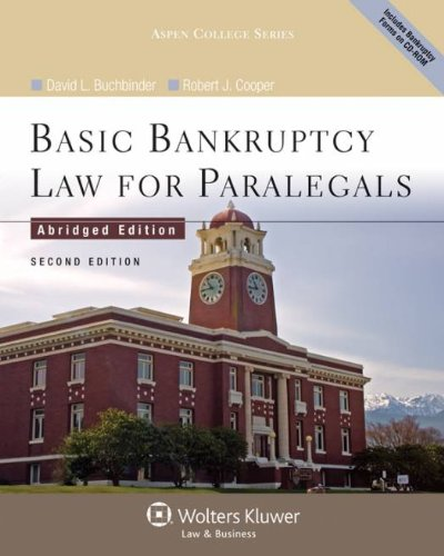 Basic Bankruptcy Law for Paralegals (Abridged), 2nd...