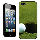 Fancy A Snuggle Coque pour Apple iPhone 5 Motif balle de golf au bord dun trou