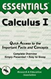 Acquista Calculus I Essentials: v. 1 (Essentials Study Guides) [Edizione Kindle]