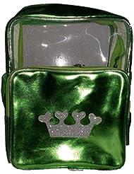 Wise Guys Latest Design Sling Bag For Kids - Transparent & Green