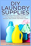 DIY Laundry Supplies: Homemade Laundry Soap & Supply Recipes to Save You Time, Money, and Reduce Chemicals (Detergent, Fabric Softener, Dryer Sheets, & More)