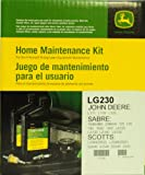 John Deere Genuine LG230 Home Maintenance Kit for JOHN DEERE: L111 L118 L120 SABRE: 1846HMS 2046HV 125 135 145 155C 190C LA120 LA130 LA140 LA150 SCOTTS: L2048(2002) L2548(2002) S2046 S2546 S2548 Z425