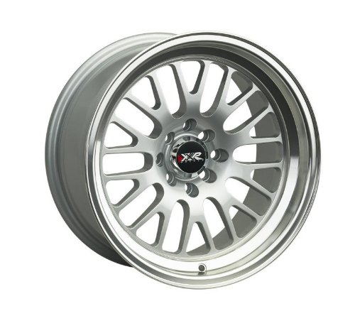 XXR 531 15x8 4x100 4x114.3 20MM Hyper Silver Set of 4