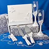 Butterfly Themed Wedding Accessory Set, 1