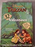 Disney's Tarzan 32 Valentines