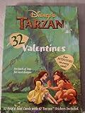 Disney's Tarzan 32 Valentines