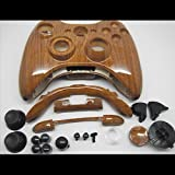 LifeMods Wood Grain Xbox 360 Hydro Dipped Controller Shell Kit