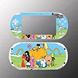 Adventure Time Jake Finn BMO Video Game Vinyl Decal Sticker Cover Skin Protector Sony Playstation PS Vita Slim PCH 2000 2001 2002 2003 Console System