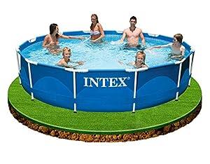 Intex aufstellpool frame pool set rondo ohne filterpumpe for Gartenpool angebote