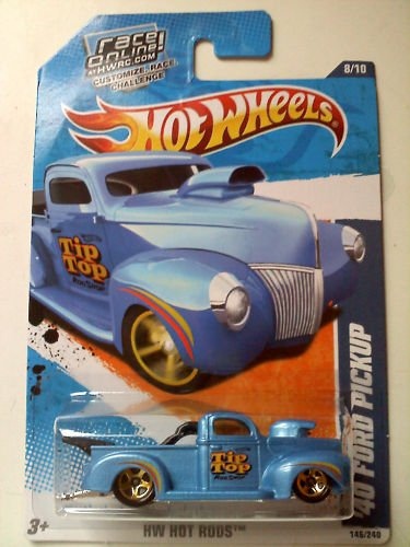 mattel hot wheels 40 blue ford pickup 146 of 240 2010