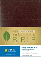 NIV Reference Bible, Personal Size (Burgundy Leather-Look)