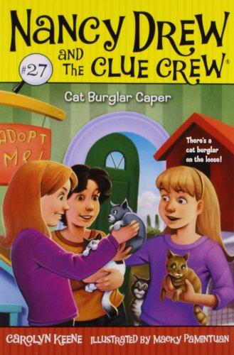 Cat Burglar Caper (Nancy Drew And The Clue Crew) front-1007968