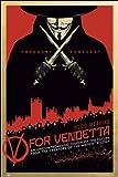Une Vision Incompromettante du Futur V pour Vendetta Poster 61 x 91.5 cm