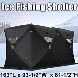 Best icefishing shelters for Cheap ice fishing shelters