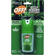 Johnson S C Inc1849Deep Woods Off Insect repellent-DEEP WOODS BUG REPELLENT