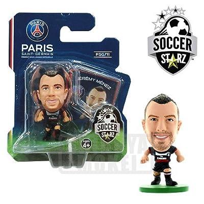 SoccerStarz Paris St Germain FC Jeremy Menez Home Kit [UK IMPORT]