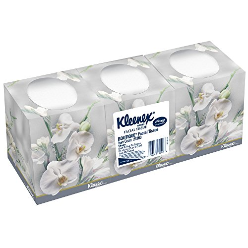 Kleenex Facial Tissue Cube (21200), Upright Face Tissue Box, 36 Floral Boxes / Case, 95 Tissues /Box, 3,420 Tissues / Case (Tissue Box Upright compare prices)
