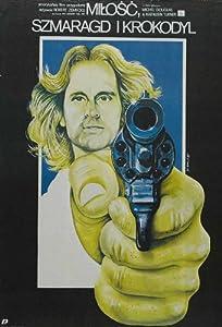 Romancing the Stone Movie Poster (27 x 40 Inches - 69cm x 102cm) (1984) Polish -(Mary Ellen Trainor)(Michael Douglas)(Kathleen Turner)(Danny DeVito)(Zack Norman)(Alfonso Arau)