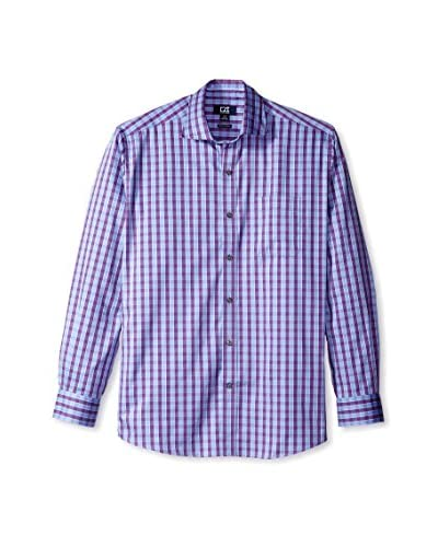 Cutter & Buck Men's Long Sleeve Lowell Check Shirt