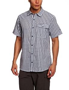 Craghoppers Men's Essentials Short Sleeved Shirt - FadeIndigoCo, Small