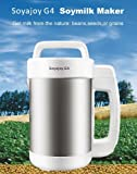 Soyajoy G4 Soy Milk Maker and Soup Maker - Largest capacity, with All Stainless Steel Inside