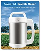 SoyaJoy G4 Soy Milk Maker & Soup Maker with all Stainless Steel Inside New Model