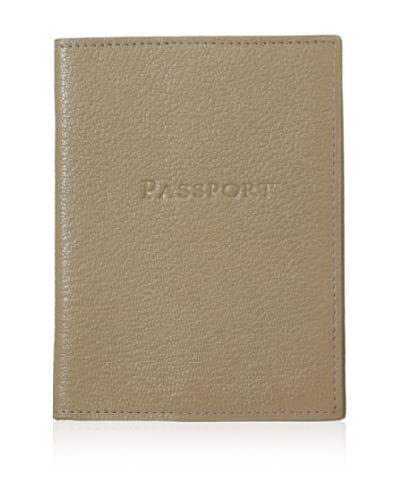 Graphic Image Women's Passport Cover, Taupe As You See