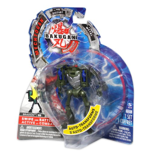 Bakugan Mechtogan Braxion (Colors and Styles May Vary)