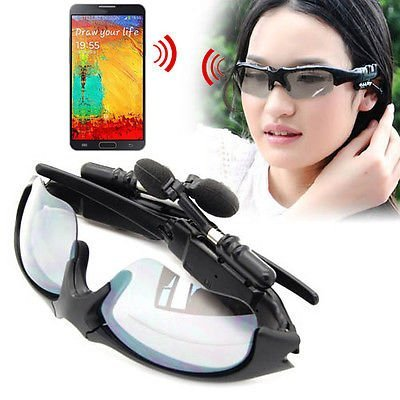 Smart Phone Universal Outdoor Sport Bluetooth Sunglasses Stereo Headset Earphone For Samsung Galaxy Note3 Iii N9000