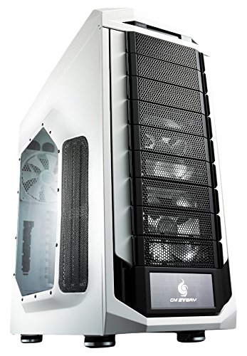 CM Storm Stryker - Gaming Full Tower Computer Case with USB 3.0 Ports and Carrying Handle (SGC-5000W-KWN1) (Desktop Computer Water Cooler compare prices)