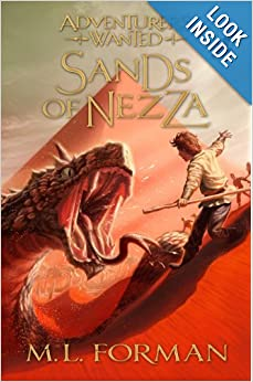 Sands of Nezza (Adventurers Wanted) - M. L. Forman