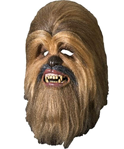 Star Wars Chewbacca Hairy Monster Latex Adult Halloween Costume Mask