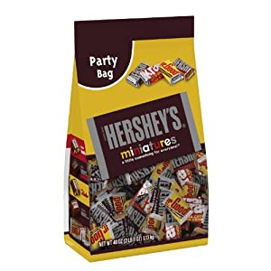 Hershey's Miniatures Assortment, 40-Ounce Bag