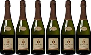 Portacelli Brut Sparkling Wine Cava NV 75 cl (Case of 6)