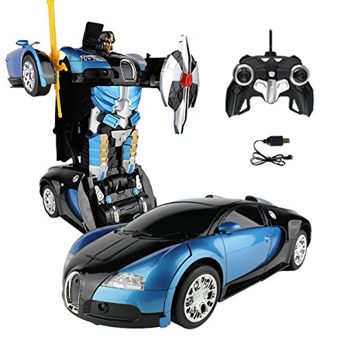 RC-Car-Blue-Robot-Remote-Control-Transforming-Autobot