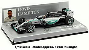Minichamps Mercedes W06 Winner Australian GP 2015 - Lewis Hamilton 1/43 Scale Die-Cast Collectors Model